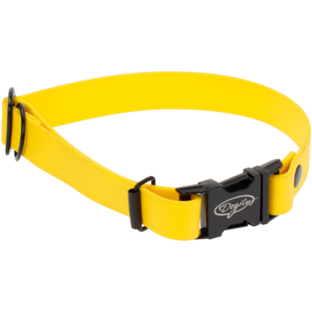 Biothane adjustable dog collar, waterproof dog collar