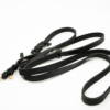 Dogily leather braided dog lead